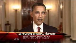 World news-Osama bin Laden is DEAD, Obama says 5 1 2011 Thumbnail