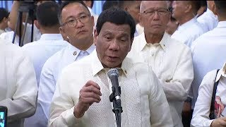 Duterte on challenge vs. China: 'Remember, China is not a member of ICC'