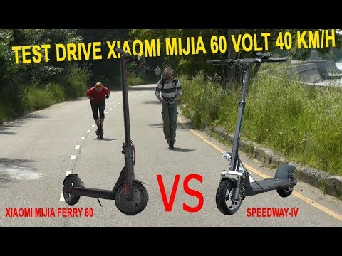Test Drive Xiaomi Mijia 60volt vs. Speedway-4, and any scooters