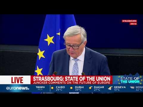 [Discurso completo] Jean-Claude Juncker, discurso sobre el estado de la Unión
