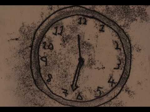 Clock Monoprint Animation