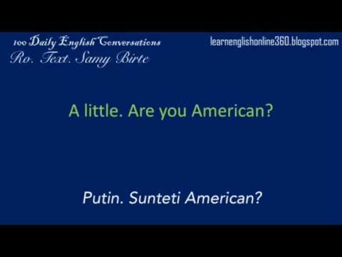 Conversatii în Englezā lectia 1 De unde esti? from YouTube · Duration:  30 seconds
