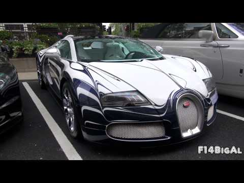 Supercars In London VOL.4 - Porcelain Bugatti FAB-Design Mclaren Blue Enzo Novitec 599 Veyron