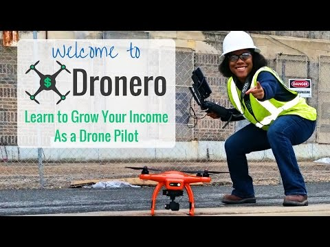 Welcome to Dronero - Learn to Grow your Income as a Drone Pilot
