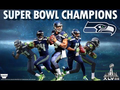 Super Bowl 48 Seahawk Highlights