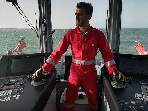 Captain DAVID TRILLO GALLEGO. Tug Master on DAMEN ASD TUG 2810.