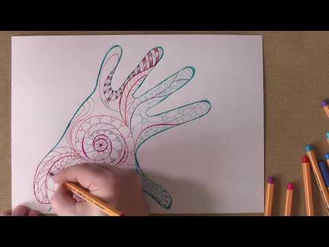 Видео-мастер-класс Рисунок с технике