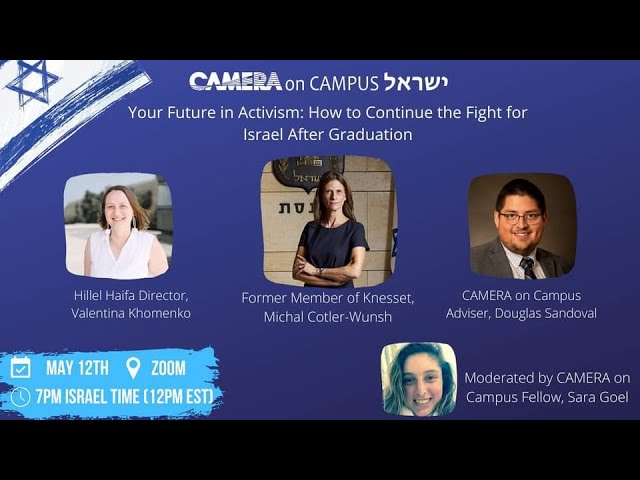 Your Future in Activism: How to Continue the Fight for Israel After Graduation