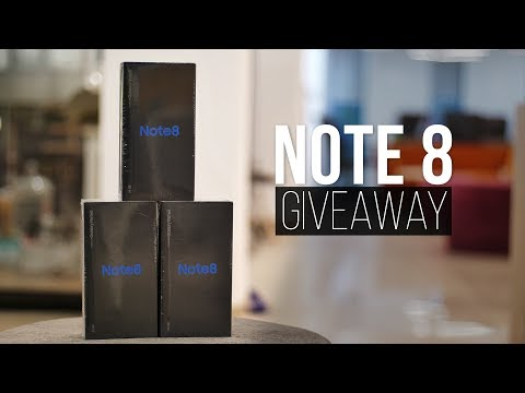1 Million Celebration: Galaxy Note 8 Giveaway!