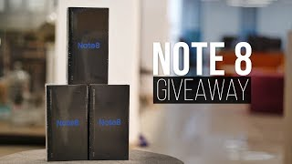 1 Million Celebration: Galaxy Note 8 Giveaway!