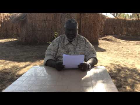 SPLM/A-N and SRF Chairman Malik Agar's speech to the cadres, 30 December 2014