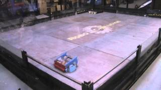 RoboChallenge Open Day 2012 - Project X vs Trouble Starter 2