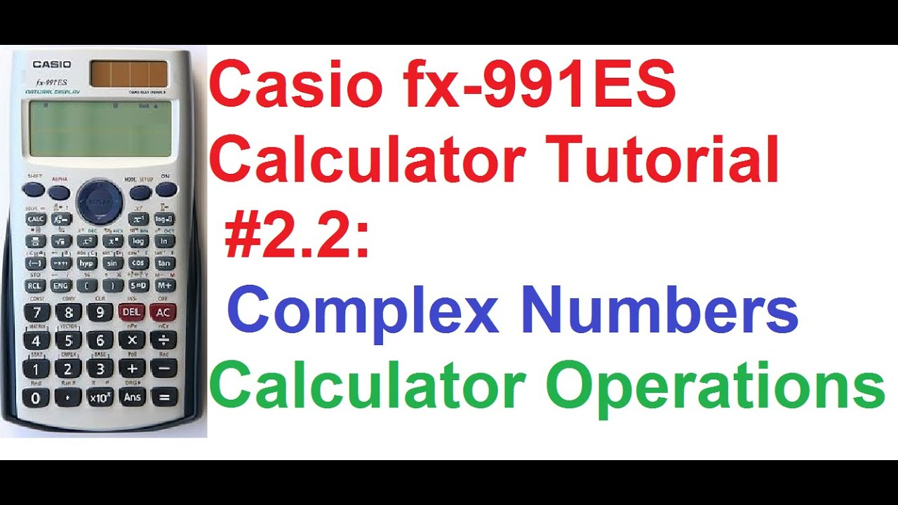 Complex Numbers With Applications - Learn math while you ...