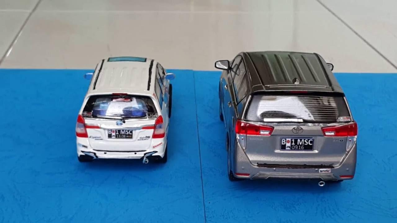 Diecast Grand New Avanza Pertama Custom Toyota Innova 2016 1 32 2014 40