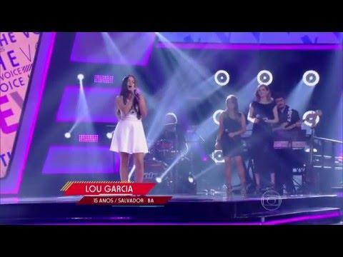 Lou Garcia canta 'Stand by me' no The Voice Kids - Audições|1ª Temporada