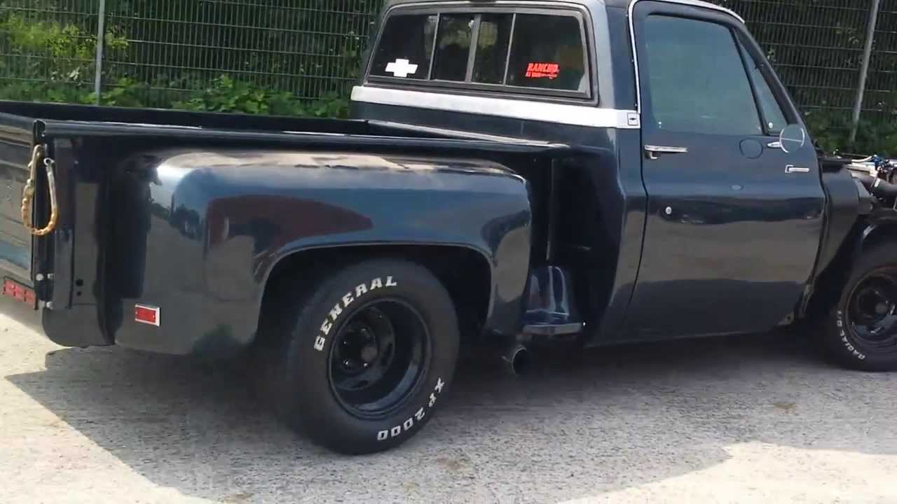 All Chevy 1963 chevy stepside for sale : 1983 C10 Stepside Silverado Procharged - YouTube