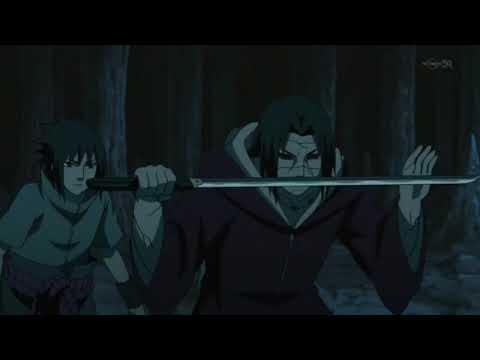 Itachi et Sasuke VS Kabuto mode ermite. L'izanami, la technique interdite du clan uchiha VF