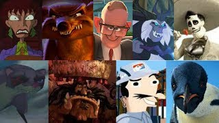 Defeats of my favorite animated movie villains part 9