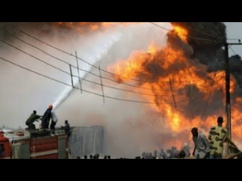 Central Bank Of Nigeria on Fire - Is this a plan to Loot Money?