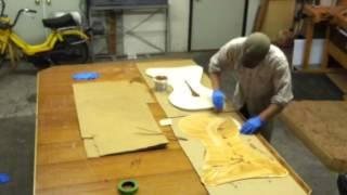 Plastic Resin Glue Up Part 1