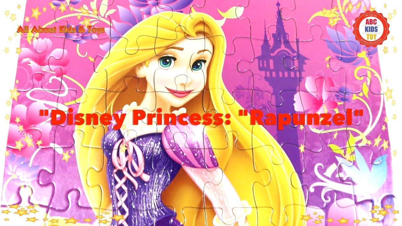 Game Disney Princess Rapunzel Tangled ABC Kids Toy Disney Art