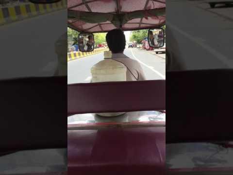 Tuk Tuk Ride in Phnom Penh, Cambodia