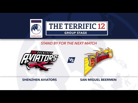 LIVE | Shenzen Aviators Vs San Miguel Beermen | Terrific 12