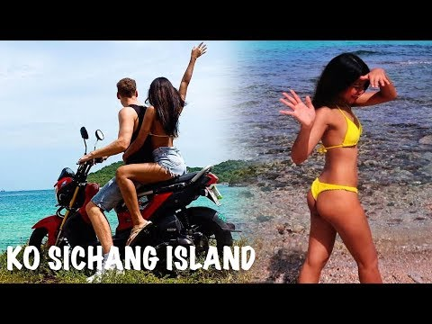 EXPLORING KO SICHANG ISLAND - SUPER CHEAP Island To Visit Nearest To Bangkok Thailand