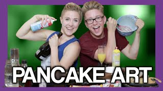 Pancake Art FAIL (ft. Hannah Hart) | Tyler Oakley