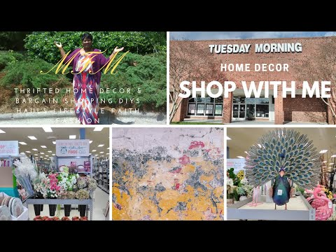 Tuesday Morning | Shop With Me | Home Decor | MFM | Spring/Summer 2019