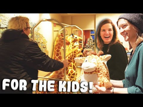 I Donated A Zoo Of Stuffed Animals To A Childrens Hospital