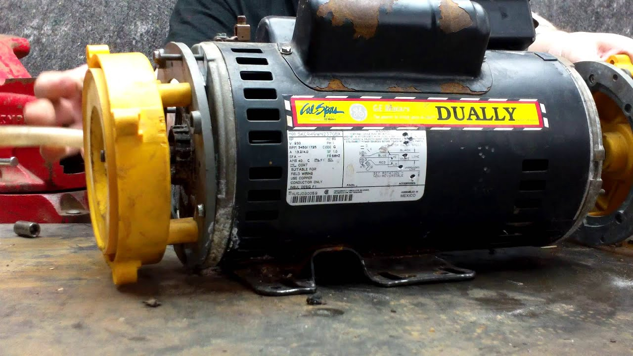 Cal spas dually pump mod 5kcr49wn2370bx repair step 0029 for Cal spa dually pump motor