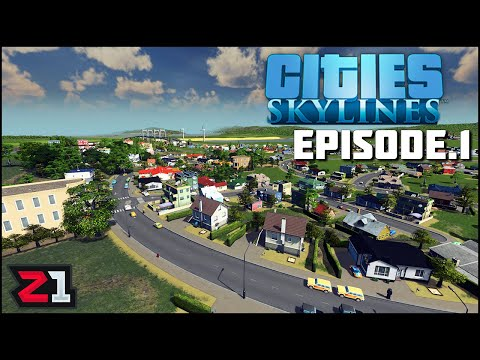 Starting A Fresh NEW City! Cities Skylines Episode 1 | Z1 Gaming