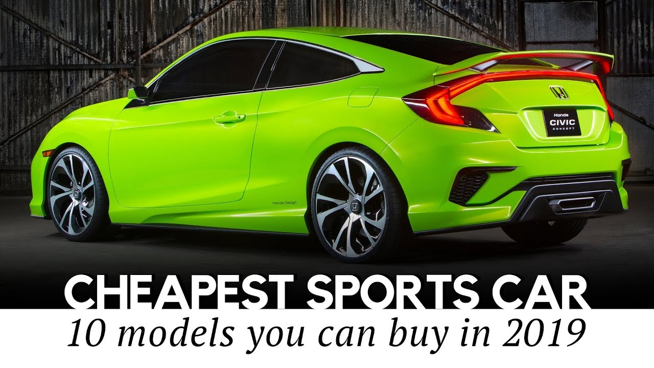 10 Cheapest Sports Cars On Sale In 2019: Reviewing Speeds