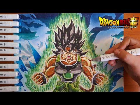 Disegno Broly Il Primo Saiyan Dragonball Super Movie 2018