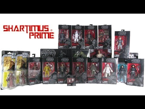 Star Wars Black Series 6 Inch Action Figure Haul Unboxing
