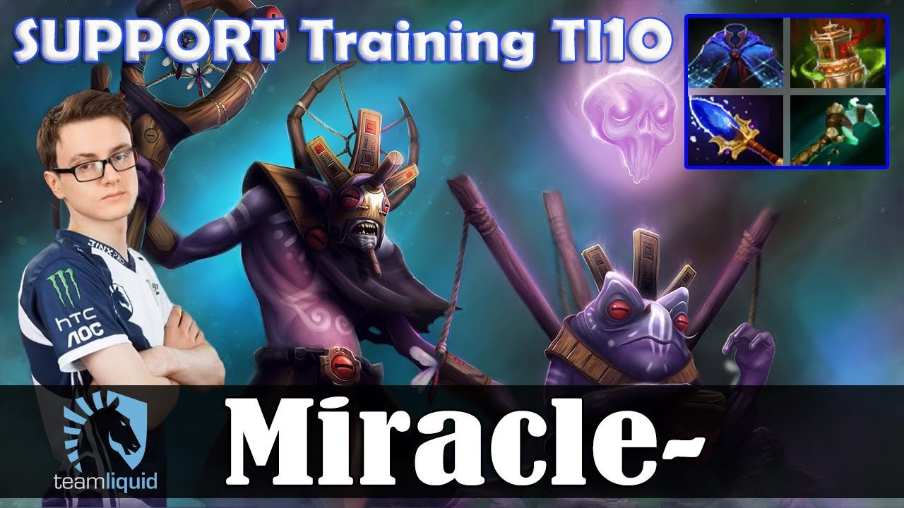 Miracle - Witch Doctor Safelane | SUPPORT Training TI10