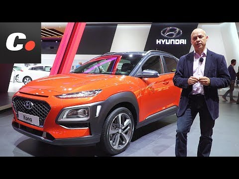 Hyundai Kona SUV Saln de Frankfurt IAA 2017 Coches.net