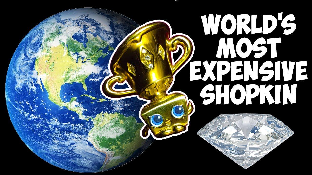 World 39 S Most Expensive Shopkin Gold Face Paint Makeup