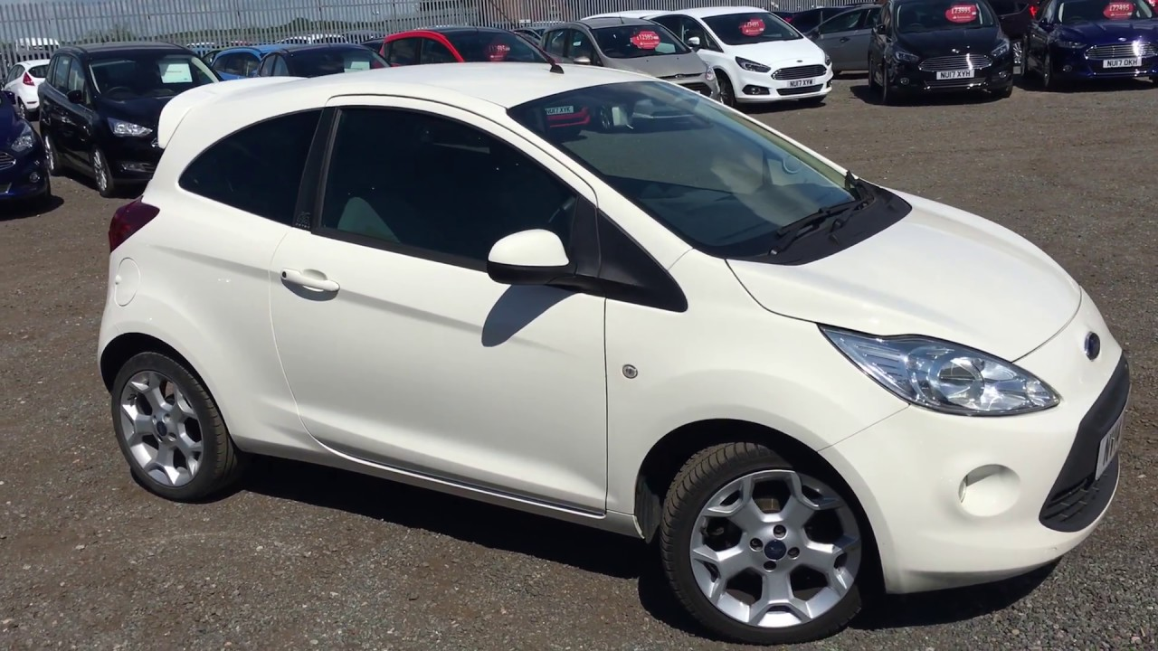 Used Ford Ka  Dr Start Stop Frost White