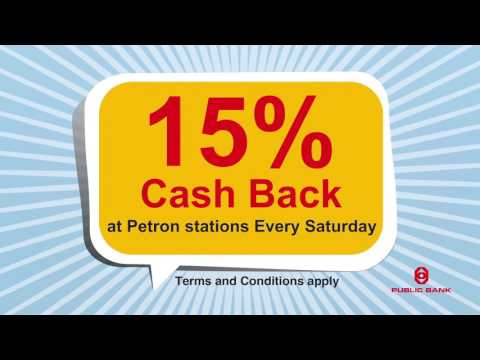 15% Cash Back of Petron Stations Every Saturday