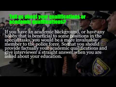 Police liaison officer interview questions