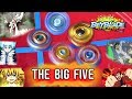 ANIME REAL LIFE BEYSTADIUM! THE BIG FIVE EPISODE 2