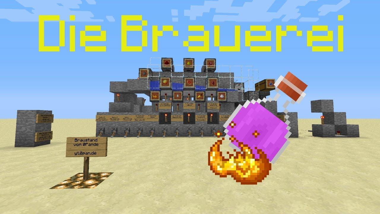 Minecraft-Tutorial: Die Brauerei (Alle Tränke brauen lassen) (PMT068 ...