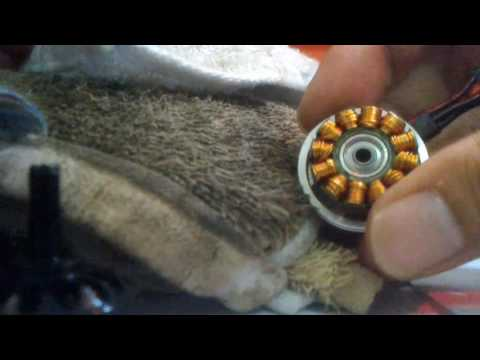 HOW TO CLEAN QUADCOPTER MOTOR