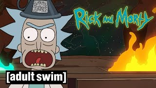 Rick and Morty | Search For The Shy Pooper | Adult Swim UK 🇬🇧