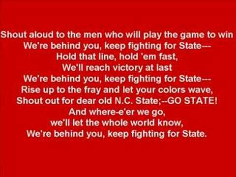 NC State - Official Fight Song