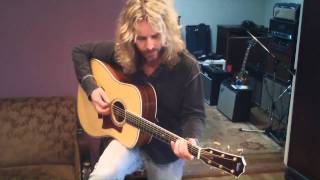 Tommy Shaw's New Taylor Guitar Dreadnought