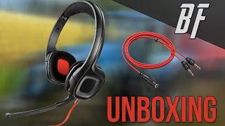 Unboxing   Casque-Micro Gamecom 318 !