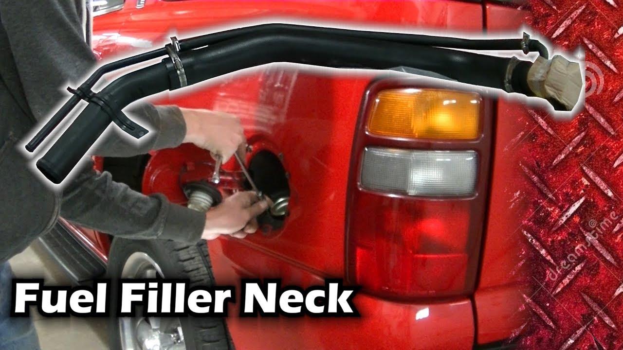 Fuel Tank Filler Neck Compatible With 2000-2003 Chevrolet Tahoe /& GMC Yukon XL 1500 /& Yukon XL 2500